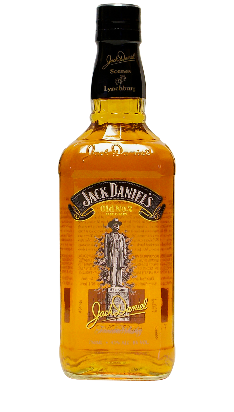 The US version was available only in the 750ml size and was filled with 86 proof whiskey