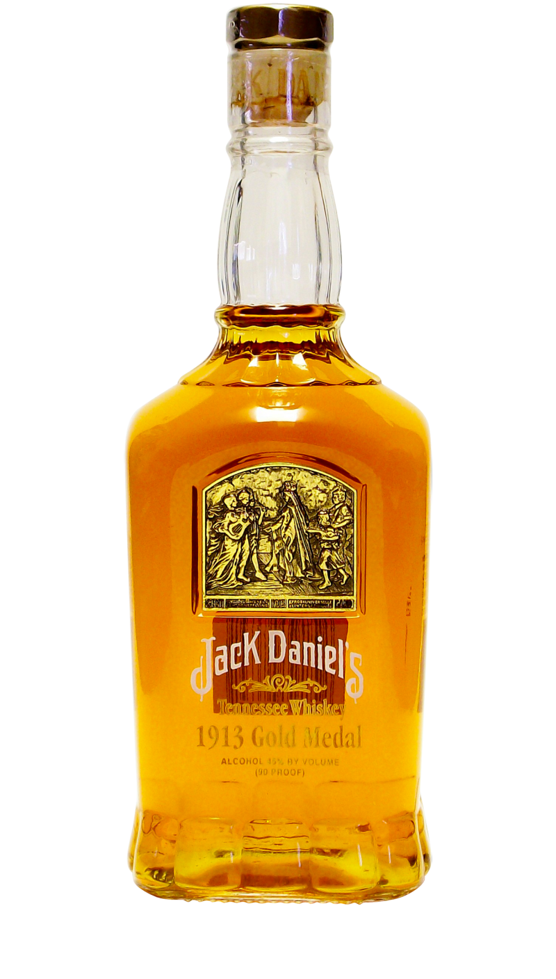 The US version was available only in the 750ml size and was filled with 90 proof whiskey