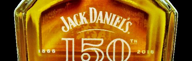 Jack Daniel's 150th Anniversary Etched Bottle